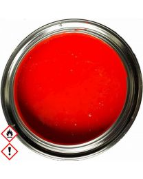 Leuchtrot RAL 3024 Tagesleuchtfarbe Neonrot Neonfarbe 1.5 kg inkl. Härter MS25
